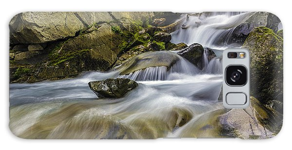 Van Trump Creek Mount Rainier National Park Galaxy Case