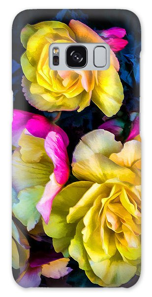 Vancouver Island Roses Galaxy Case