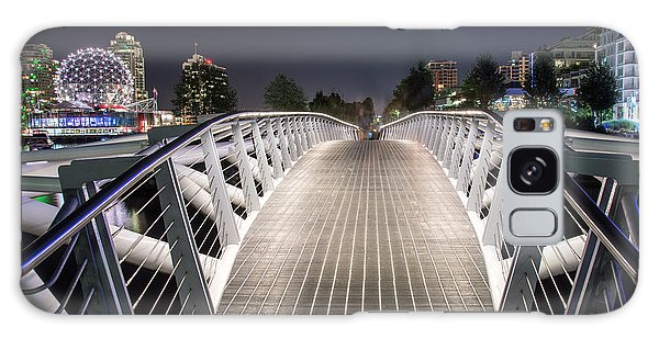 Vancouver Olympic Village Canoe Bridge - By Sabine Edrissi  Galaxy Case