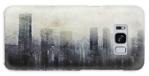 Vancouver Skyline Abstract 1 Galaxy Case