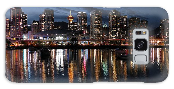 Vancouver Skyline Galaxy Case by Brian Chase