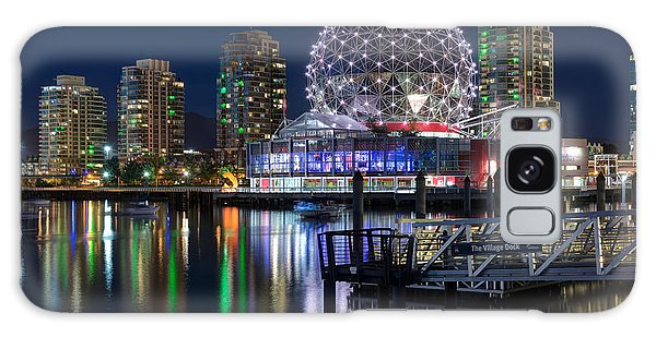 Vancouver Telus World Of Science - By Sabine Edrissi Galaxy Case by Sabine Edrissi