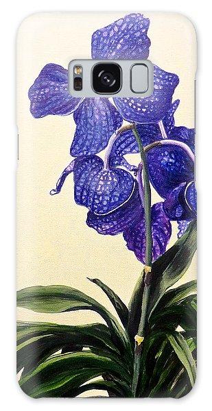 Vanda Sausai Blue Orchid Galaxy Case