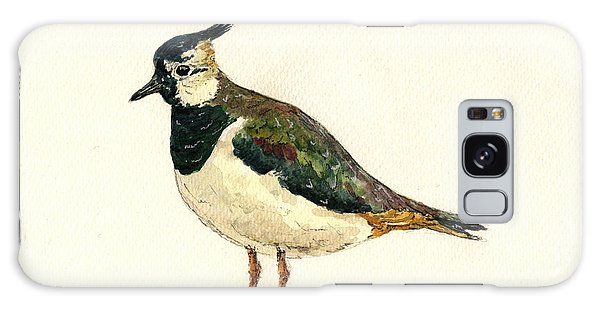 Lapwing Galaxy Case - Vanellus Vanellus by Juan  Bosco