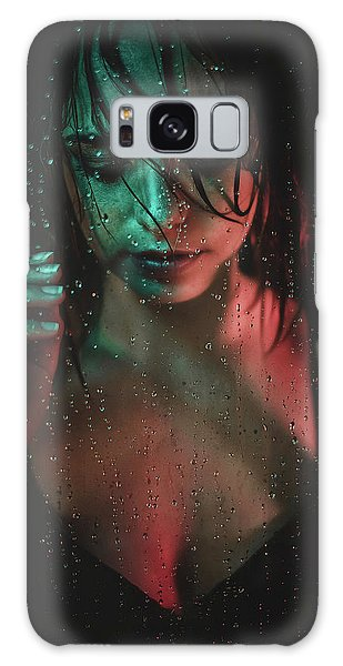 Water Droplets Galaxy Case - Vanessa by Klaus Grimm