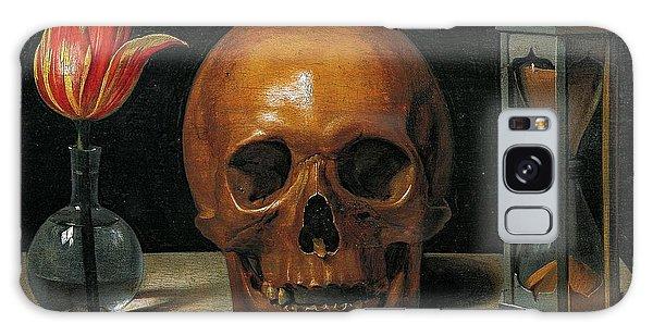 Skull Galaxy Case - Vanity by Philippe de Champaigne