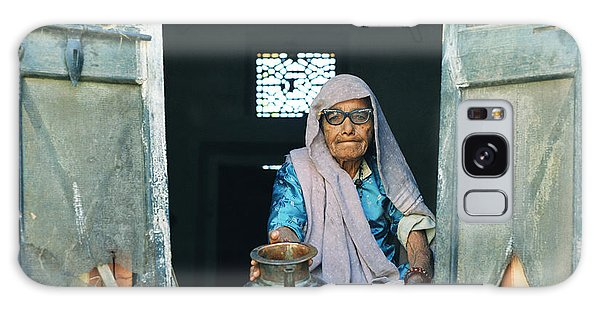 Varanasi Water Seller Galaxy Case