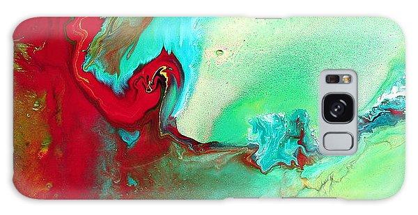 Variety - Colorful Fluid Abstract Art By Kredart Galaxy Case