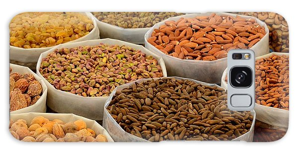 Variety Of Raw Nuts For Sale At Outdoor Street Market Karachi Pakistan Galaxy Case