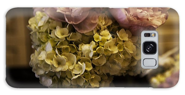 Vase Of Flowers Galaxy Case