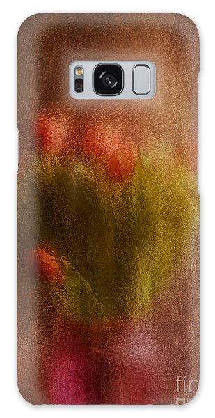 Vase Of Tulips  Galaxy Case