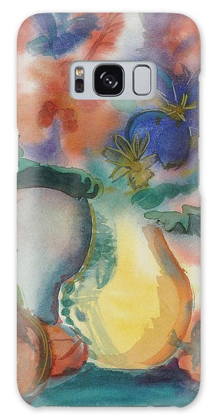 Vase Still Life 1 Galaxy Case