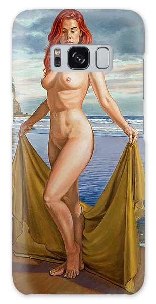 Seashore Galaxy Case - Vaunt At The Beach by Paul Krapf