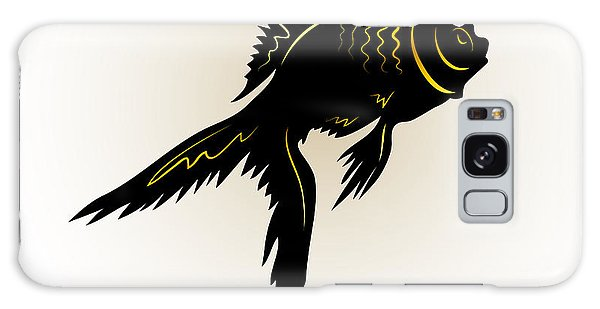 Reflections Galaxy Case - Vector Drawing Of The Silhouette by Farferros