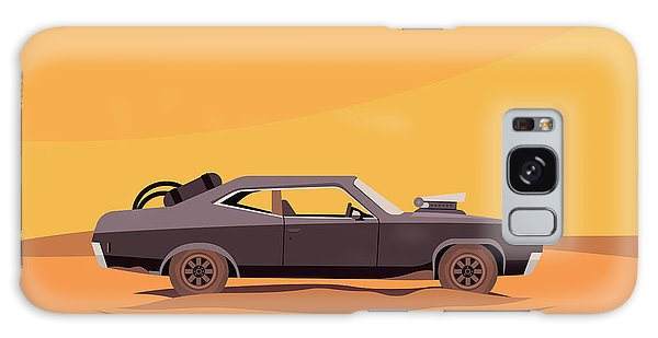 Motor Galaxy Case - Vector Flat Illustration Of A Vehicle by Supercaps