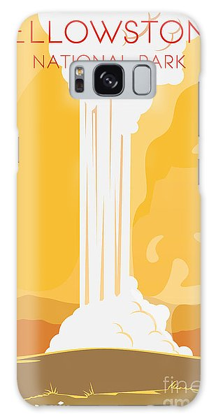 Montana Galaxy Case - Vector Retro Poster. Yellowstone by Red Monkey