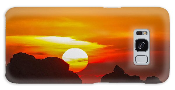 Vedauwoo By Sunrise Galaxy Case