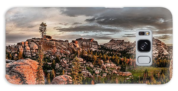Vedauwoo View Galaxy Case by Steven Reed