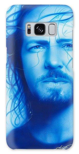 Eddie Vedder - ' Vedder ' Galaxy Case by Christian Chapman Art