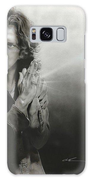 Eddie Vedder - ' Vedder Iv ' Galaxy Case by Christian Chapman Art
