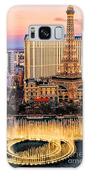 Vegas Water Show Galaxy Case by Tammy Espino
