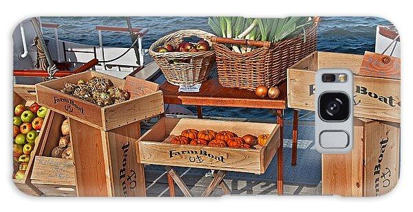 Vegetables At Floating Farmer's Market Galaxy Case by Valerie Garner