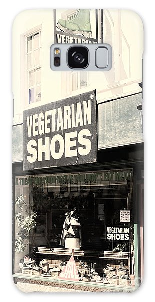 Vegetarian Shoes Galaxy Case