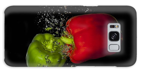 Galaxy Case featuring the photograph Veggie Bath by Vickie Szumigala