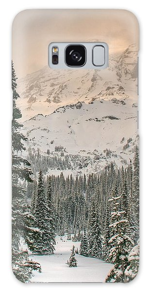 Veiled Mountain Galaxy Case by Jeff Cook