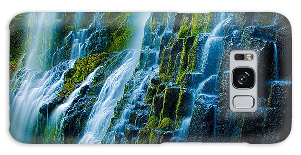 Basalt Galaxy Case - Veiled Wall by Inge Johnsson