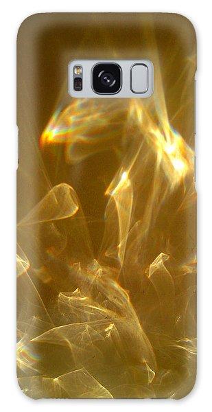 Veils Of Light Galaxy Case by Leena Pekkalainen