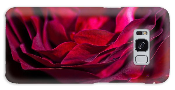 Velvet Red Rose Galaxy Case