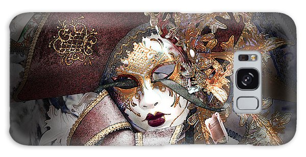 Venetian Carnival Mask Galaxy Case