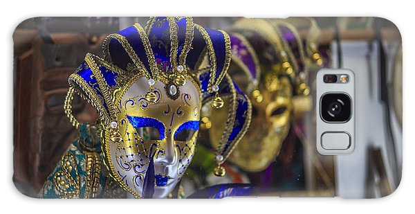 Venetian Carnival Masks Cadiz Spain Galaxy Case by Pablo Avanzini