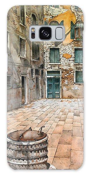 Venetian Courtyard 02 Elena Yakubovich Galaxy Case