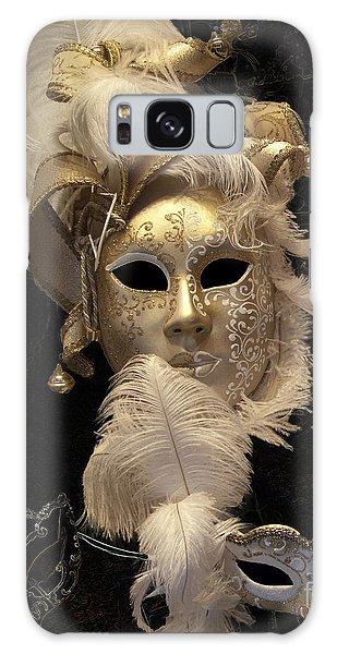 Venetian Face Mask B Galaxy Case