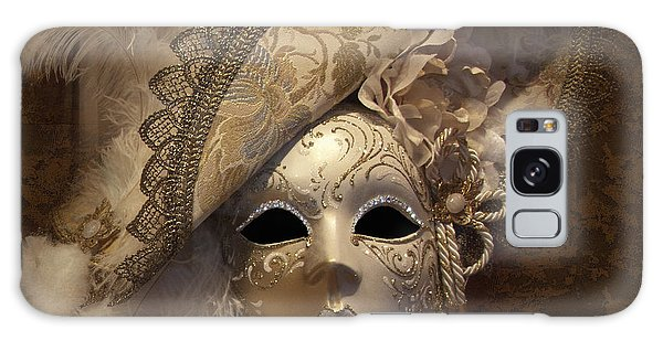 Venetian Face Mask F Galaxy Case