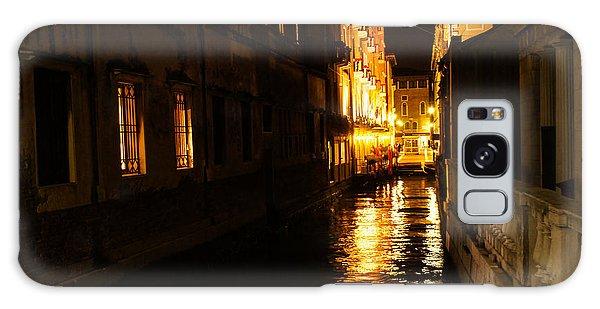 Venetian Golden Glow Galaxy Case