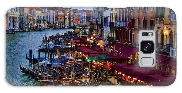 Venetian Grand Canal At Dusk Galaxy Case