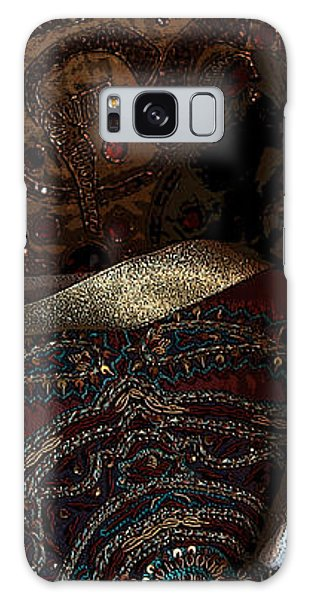 After The Carnival - Venetian Mask Galaxy Case by Yvonne Wright