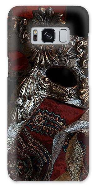 After The Carnival - Venetian Mask Galaxy Case