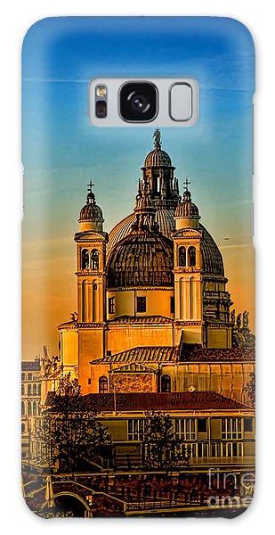 Venezia-basilica Of Santa Maria Della Salute Galaxy Case
