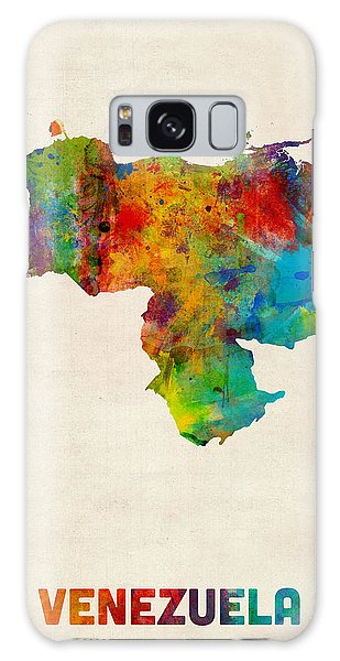 Venezuela Watercolor Map Galaxy Case