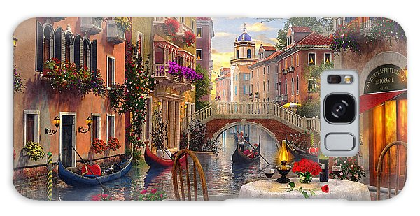 Horizontal Galaxy Case - Venice Al Fresco by MGL Meiklejohn Graphics Licensing