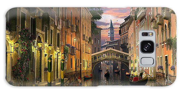 Venice At Dusk Galaxy Case by Dominic Davison