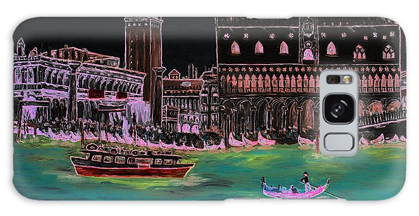 Venice At Night Galaxy Case