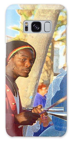 Venice Beach Percussionist Galaxy Case