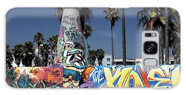 Venice Beach Graffiti Galaxy Case