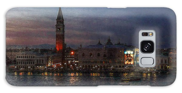 Venice By Night Galaxy Case by Hanny Heim