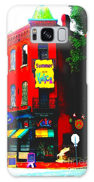Venice Cafe' Painted And Edited Galaxy Case